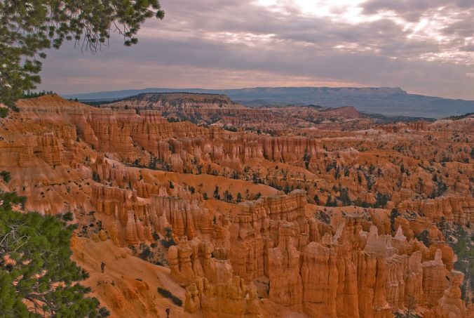 Sunset Overlook Bryce Canyon